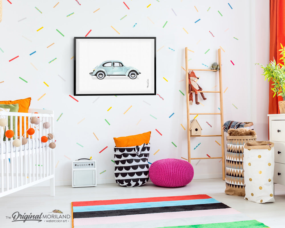 VW beetle Bug Wall Art