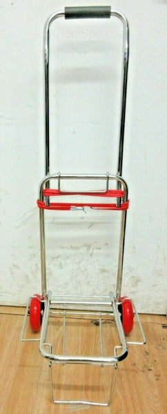 NEW STAINLESS STEEL TROLLEY FOLDING SACK TRUCK Camping