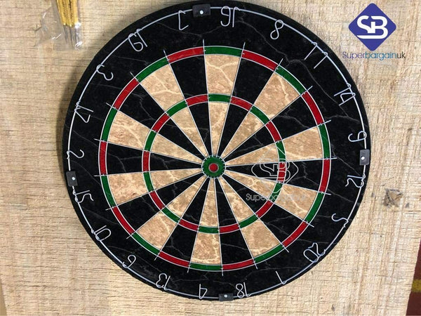 Super Dartboard Dart Board Set (18 Inch) Diameter Dartboard