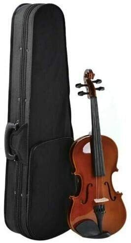 SUPER TOYS Kids Acoustic Violin - 4/4 Size Natural Color