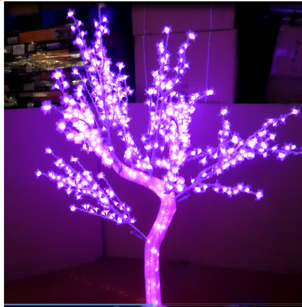 1.8 Meter high quality waterproof led decoration crystal tree