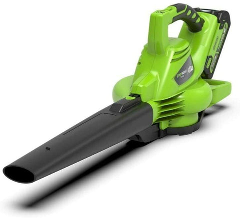 Greenworks Cordless Vacuum Cleaner and Leaf Blower 2in1 GD40BVK2X