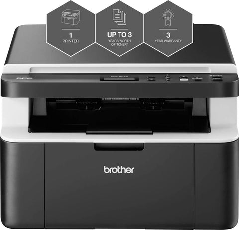 Brother DCP-1612W 'All in Box Bundle' Mono Laser Printer - All-in-One