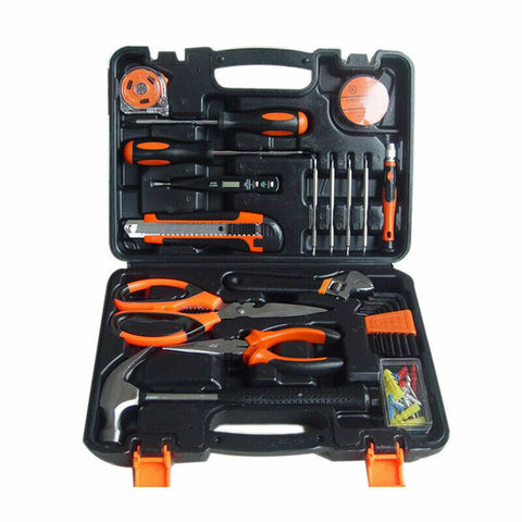 82 Pcs DIY Household Hand Tool Kit Home Repair Daily Maintenance Socket Set
