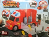 Police/Fire Toys for Kids Police van/Fire van with accessories Lights Sound new