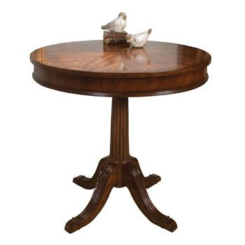 GLOBAL DIRECT BRAKEFIELD ACCENT TABLE 61CM ROUND (24'') - Super Bargain UK LTD