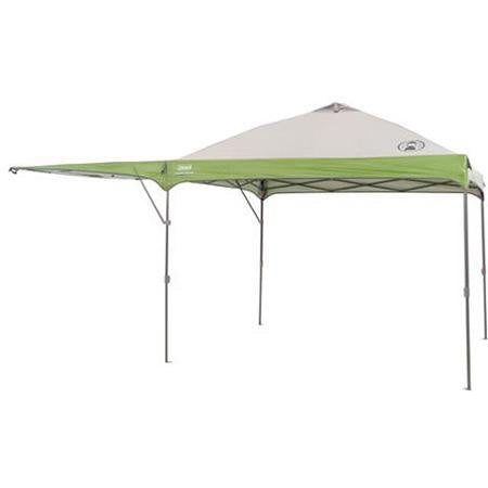 Coleman 10' X 10' Instant Straight Leg Outdoor Tailgate Canopy/gazebo with Added Swing Wall - Super Bargain UK LTD