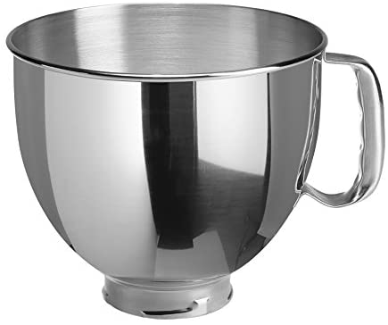 KitchenAid UK 5KSM95PSBCU Stand Mixer with Pouring Shield, 275 W, Silver