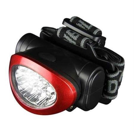 10 Ultra Bright LED Headlamp / Torch Headlight  - 3 Pack - Super Bargain UK LTD