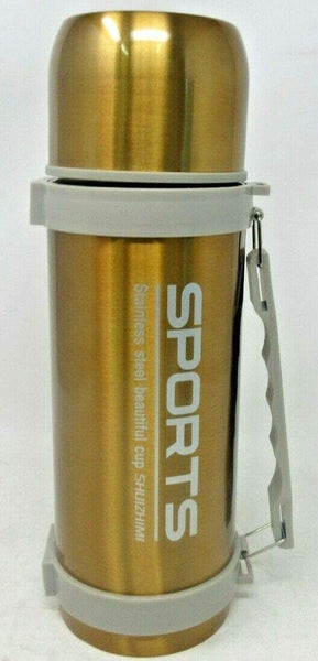 Modern Double Wall Stainless Steel Cold Thermal Thermos Mug 1200ml
