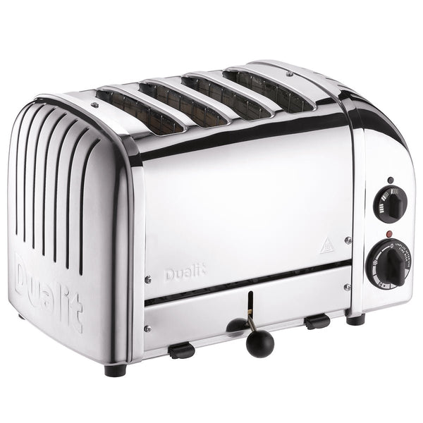 Dualit E.A.N. 619743403780 4 Slice Vario AWS Toaster Polished Stainless Steel 40378, Silver - Super Bargain UK LTD