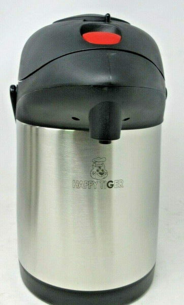 Stainless Steel Pump Airpot Dispenser Suitable Hot Tea Thermal Thermos Coffee Cold Drinks Vacuum Flask Jug Pump 4l/3l/2.5 L