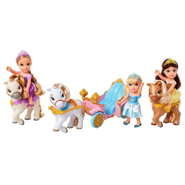 Disney Petite Doll And Jakks Petite Doll Pony and Royal Carriage Gift Set - Super Bargain UK LTD