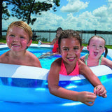 H2O GO Bestway Hexagon Family Pool - Super Bargain UK LTD