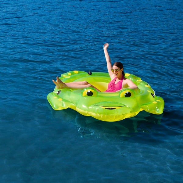 CoolerZ™ 7ft (213cm) Inflatable Frog Float - Super Bargain UK LTD