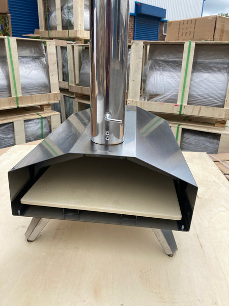 Super Grills  outdoor pizza oven stainless steel table top portable Italian