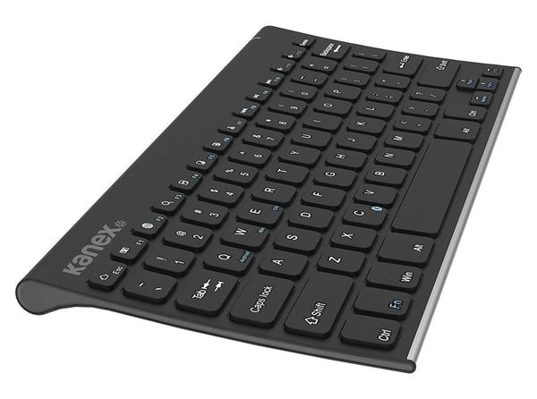 Kanex EasySync iPad Keyboard with Stand Cover - Black - Super Bargain UK LTD