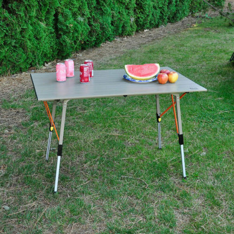 Timber Ridge Aluminum Folding Camp Table
