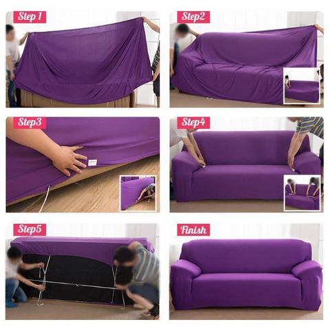 Couch Covers Protector Slipcovers Chair Sofa Elastic Furniture Sectional Stretch Universal Waterproof