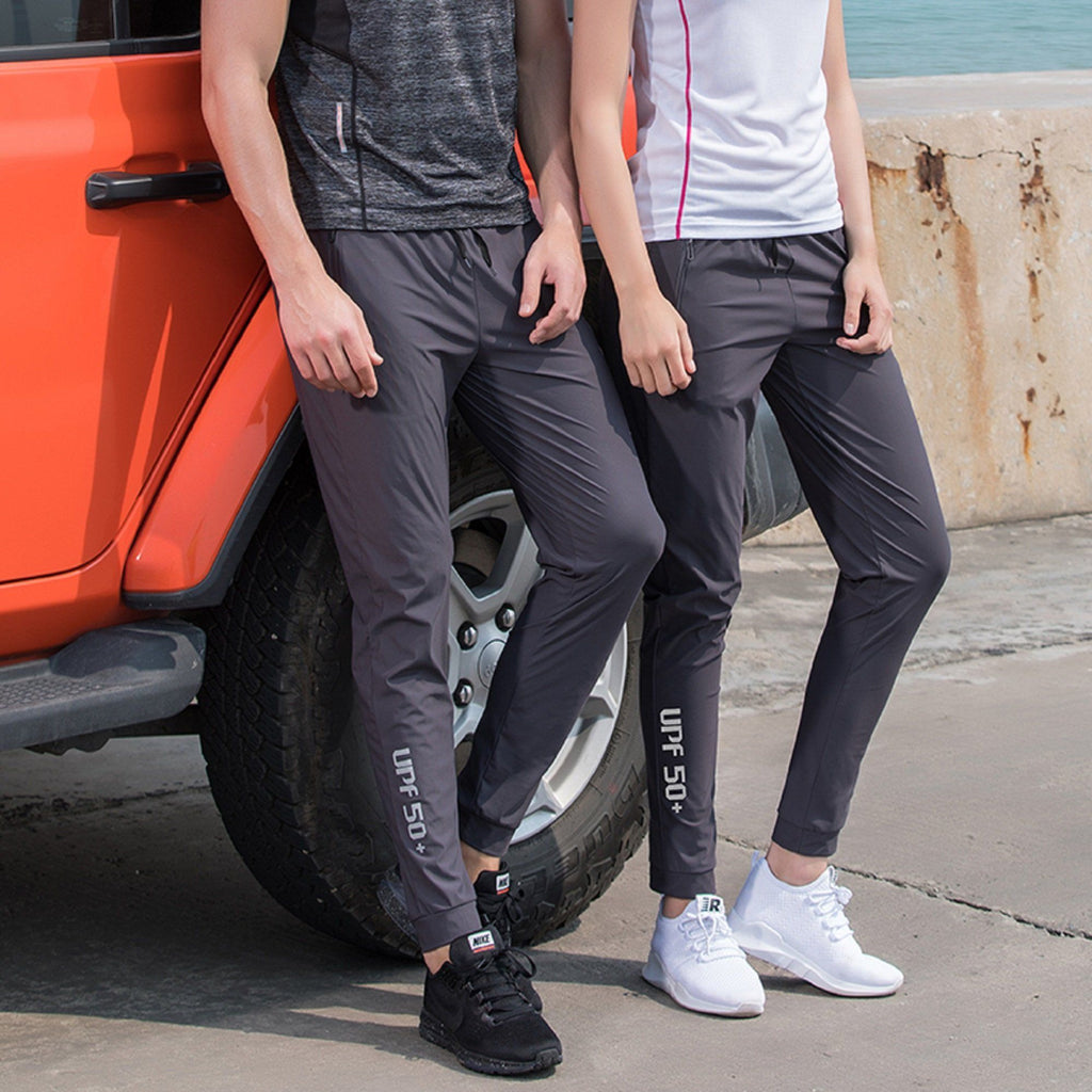 Ice Silk Elastic Breathable Pants