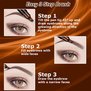 Microblading 4-Tips Eyebrow Pen