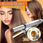 Brush Styler Rotating Iron Hair Styler