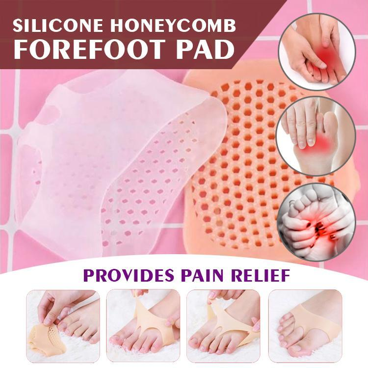 Honeycomb Silicone Forefoot Pad