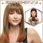 Fringe Hair Clip-In Bangs Extension