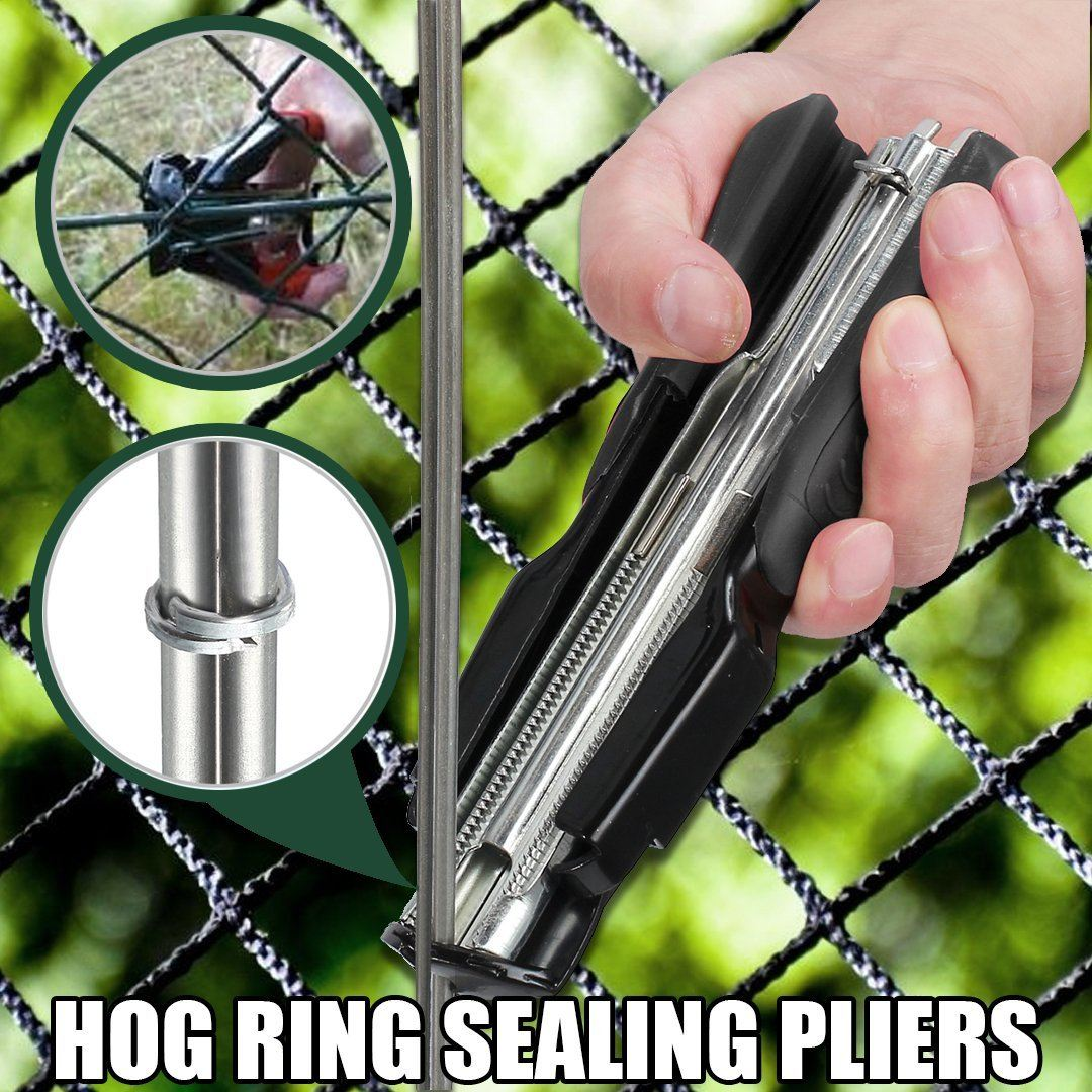 Hog Ring Sealing Pliers