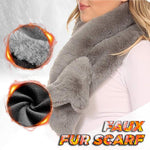Thicken Faux Rabbit Fur Scarf