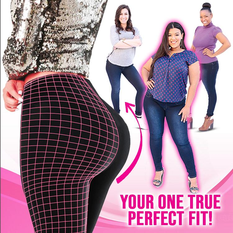 TruFit One Size Fit All Stretchy Mid-Rise Jeans