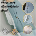 Vintage Luxury Waistline Reducing Brooch