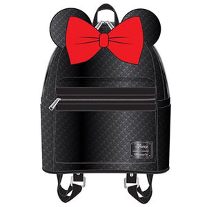 4bc7c514dc0 Minnie Mouse Black Sequin Mini Backpack