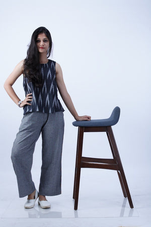 Grey Pants - Threeness Designs