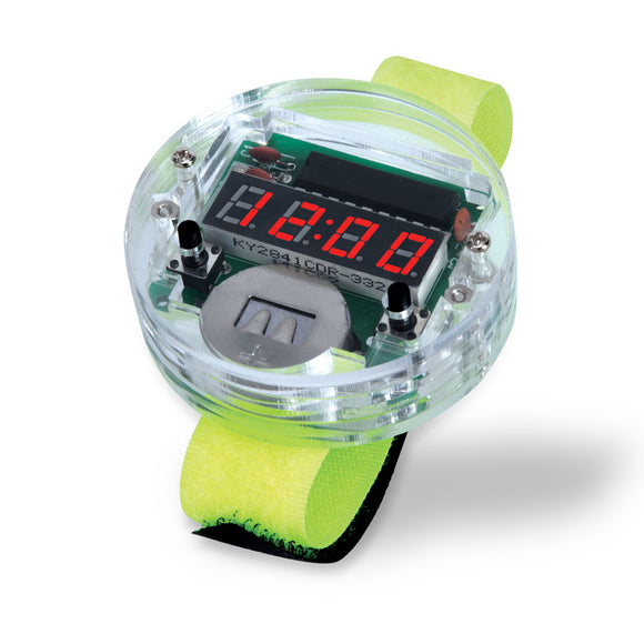 The DIY 80s Digital watch