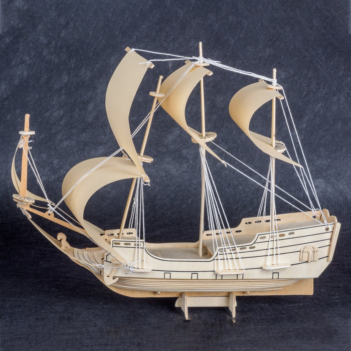 HMS Endeavour Wood Ship