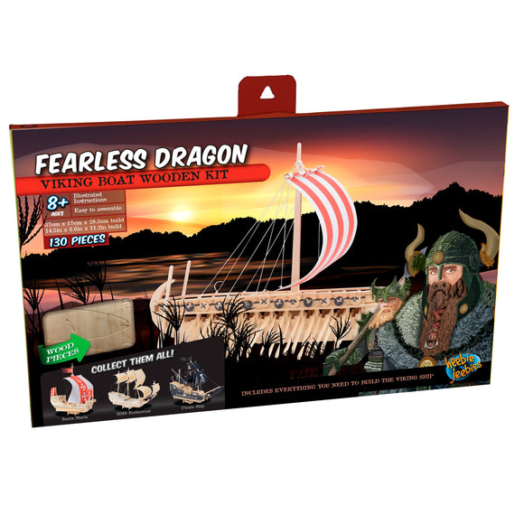 Fearless Dragon Wood Ship