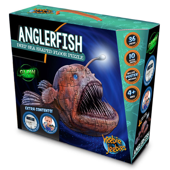 Angler Fish Floor Puzzle