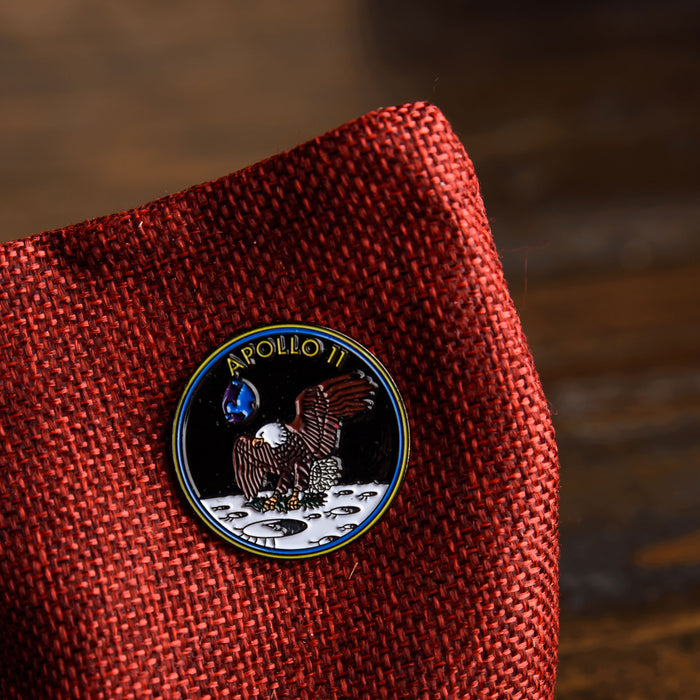 Space Apollo 11 Pin