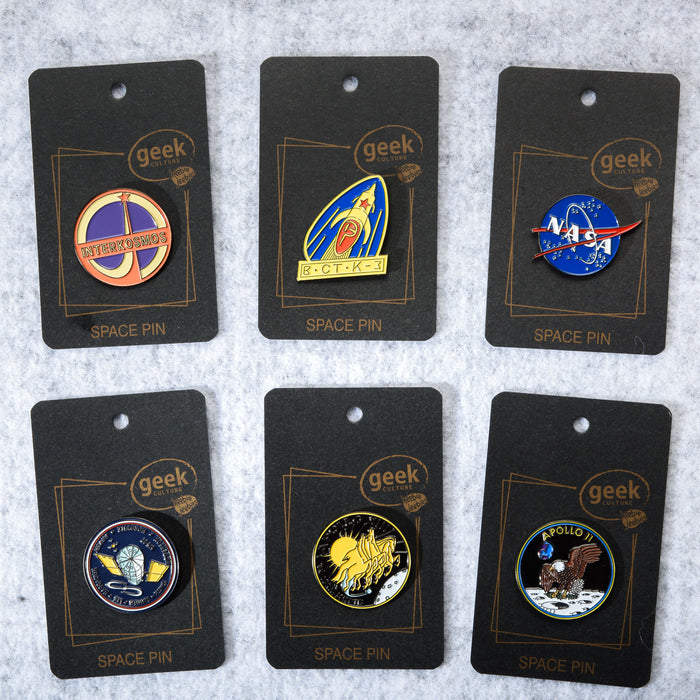 Space Mission NASA Pin