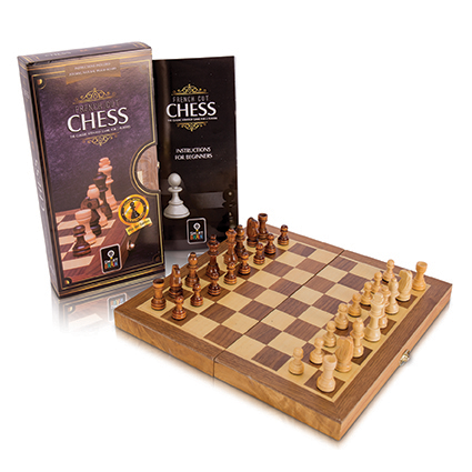 French Cut Chess 30cm