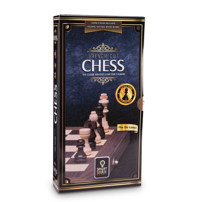 French Cut Chess 11.8""