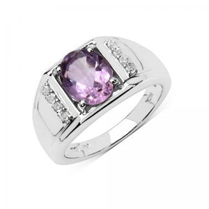 Alluring 1.60ct Amethyst Ring