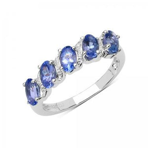 Luxurious Beauty Of 1.25ctw Tanzanite Ring