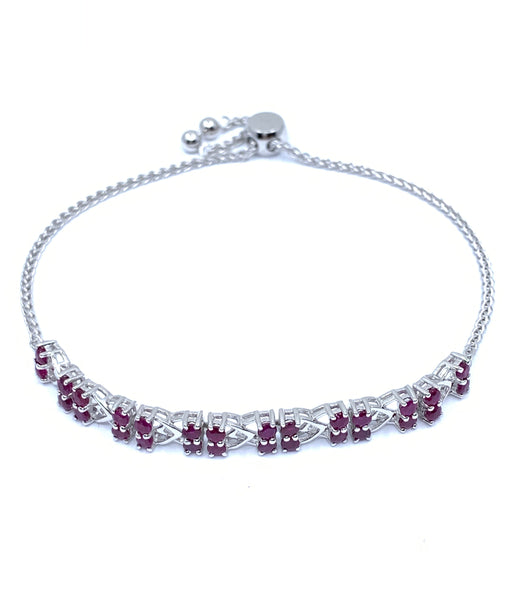 Gorgeous 3.4ctw Ruby Bracelet