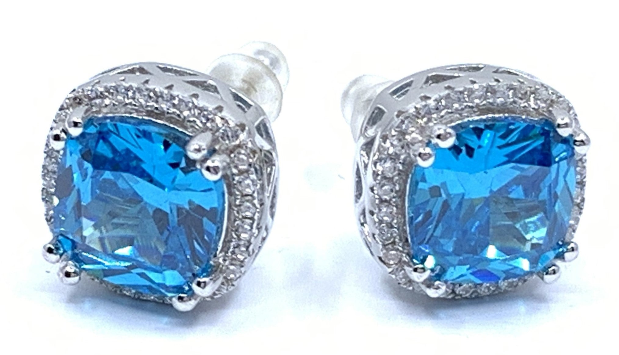 London Blue Princess Earrings