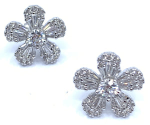 Stunning Flower Earrings