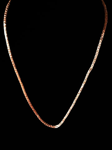 Rose Gold Sterling Silver Chain
