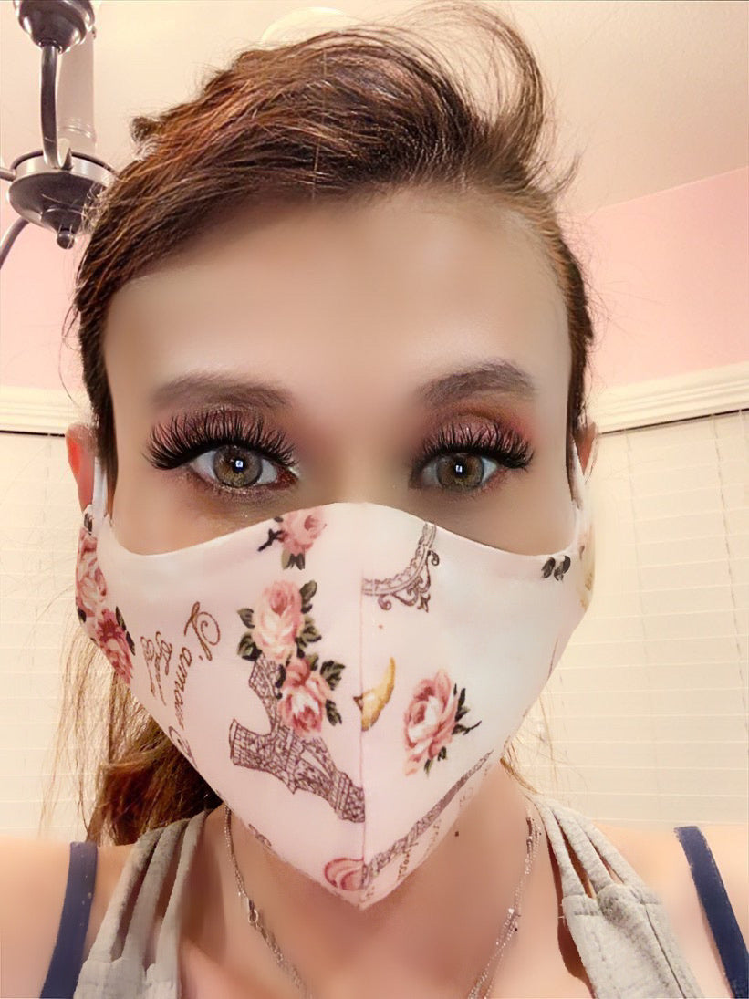 Fashion Forward Stylish Stop Spread Face Mask