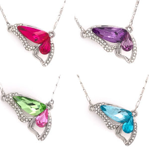 Gorgeous Butterfly Swarovski Necklace